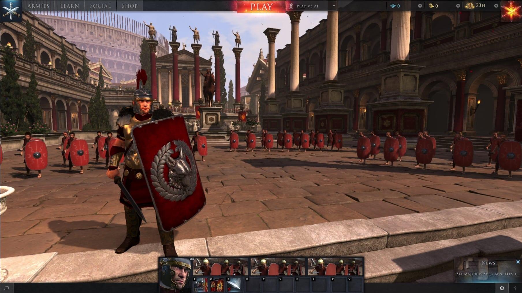 Comment jouer à Total War : Arena en anglais