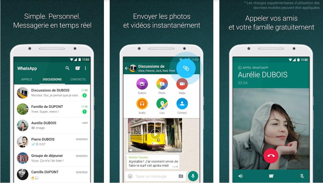 [MAJ]WhatsApp proposera bientôt l'autodestruction des médias dans les discussions