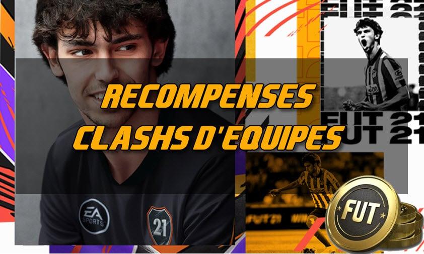 FUT 21 : La liste des récompenses pour les clashs d'équipes