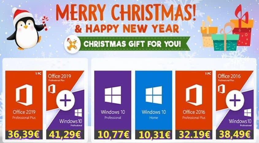 Cadeau de Noël : offrez-vous une clé Windows 10 Pro pour 10.77€ !