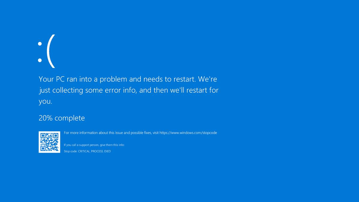Ecran bleu Windows 10 : Ne tapez surtout pas cette adresse dans votre navigateur