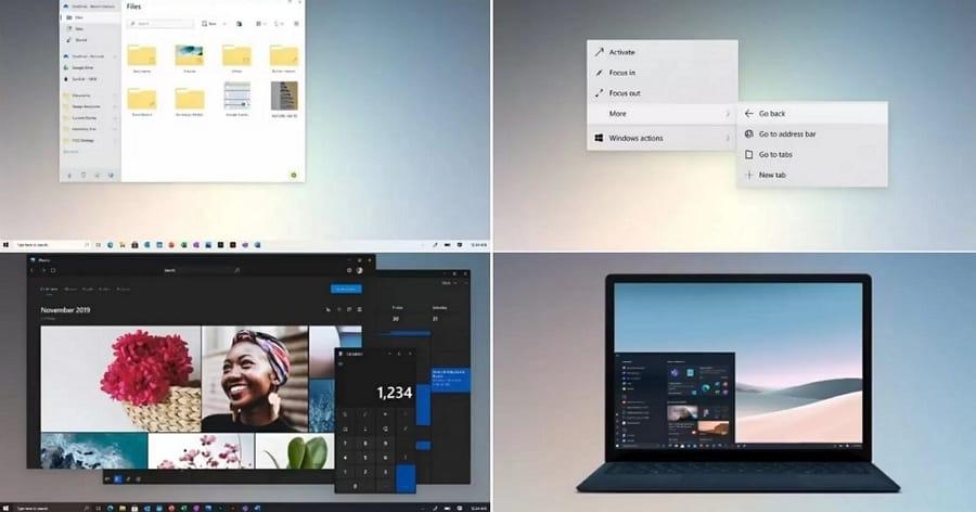 Et si Microsoft préparait une importante mise à jour visuelle pour Windows 10 ?