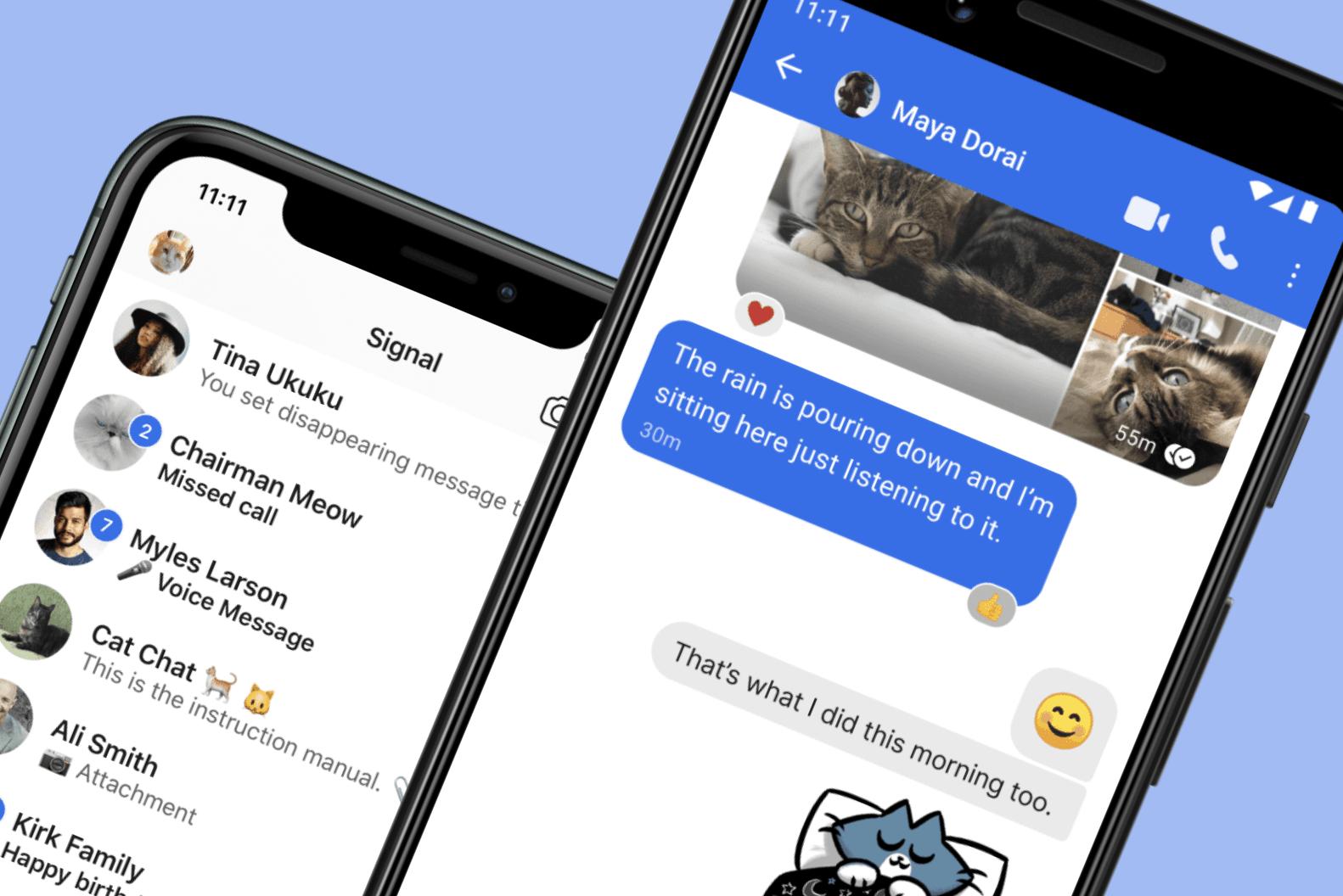 Quelles sont les données collectées par vos applications de messagerie ?