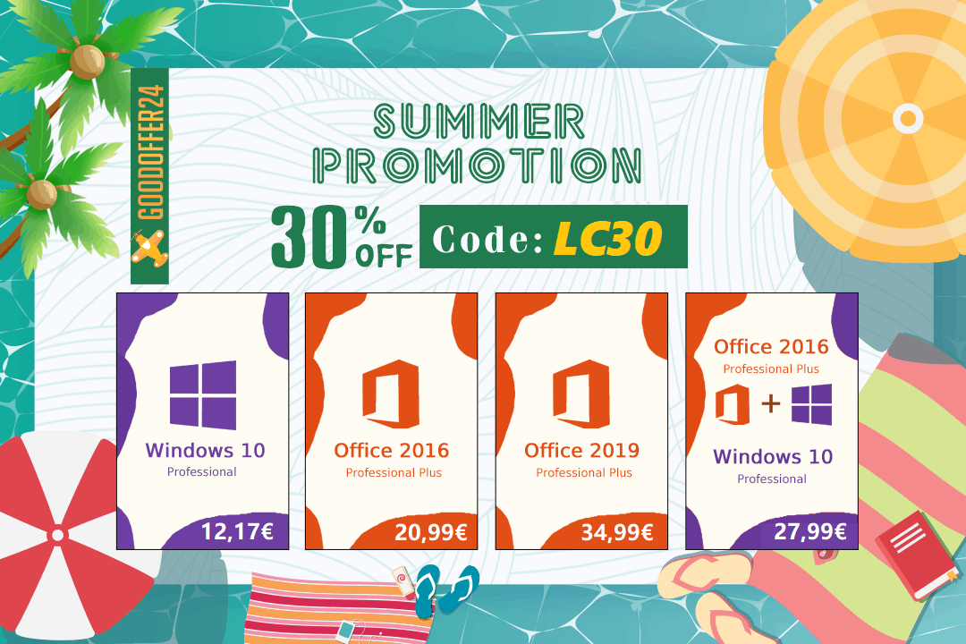 Obtenez Windows 10 pour seulement 12 €, Office 2016 pour 20 €, ce n'est pas tout !
