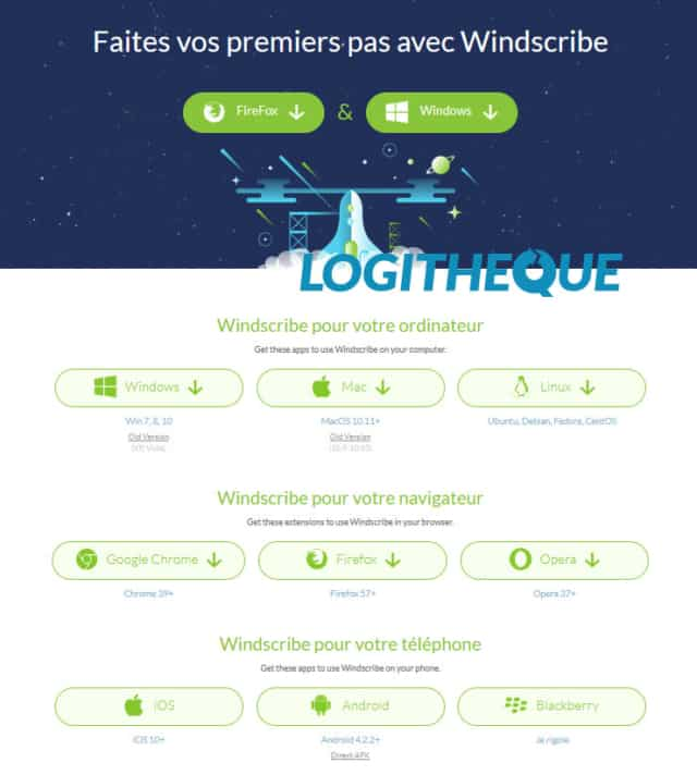 Windscribe Download