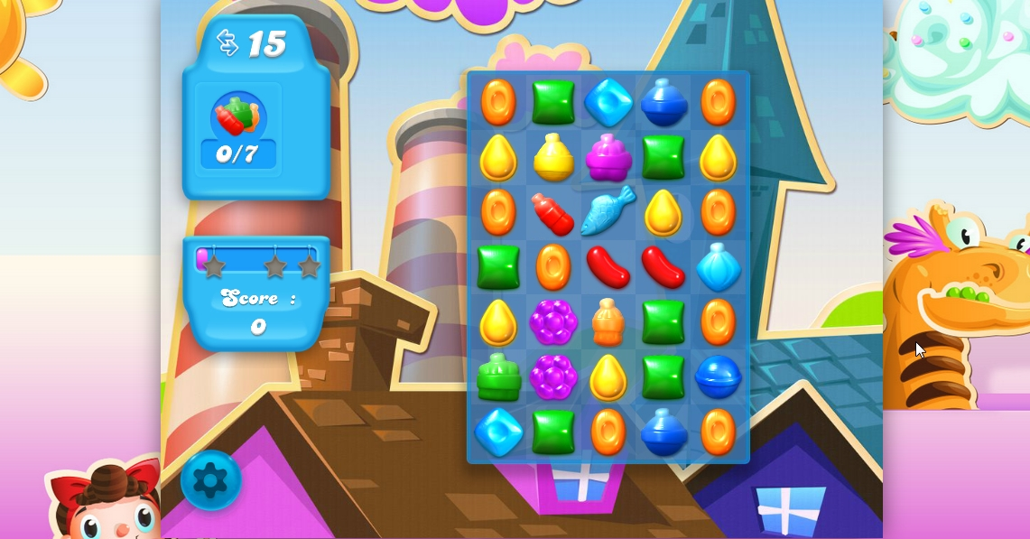 Capture d'écran Candy Crush Soda Saga en ligne