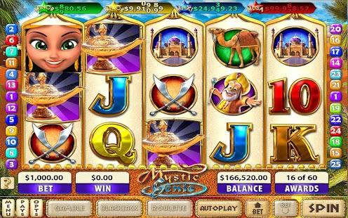 Capture d'écran Mystic Genie Slots