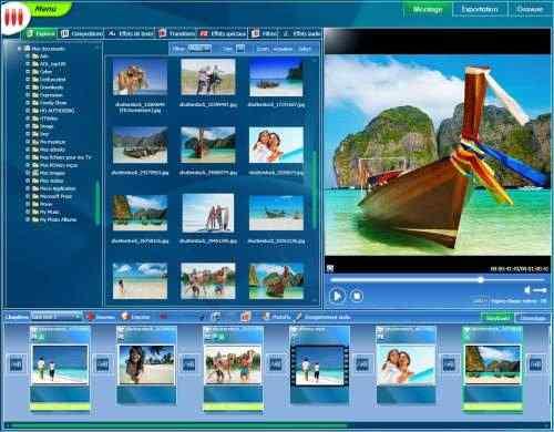 Capture d'écran Vos Photos à la Télé