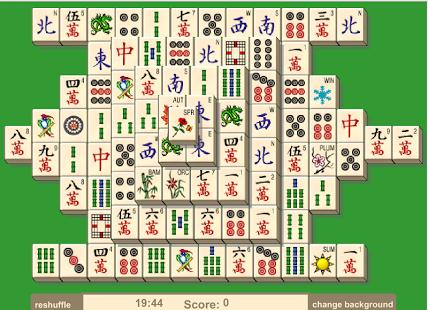 Capture d'écran Mahjong Solitaire