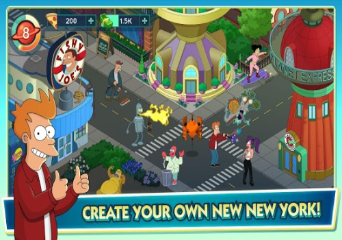 Capture d'écran Futurama : Worlds of Tomorrow Android
