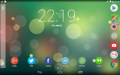 Capture d'écran Numix Circle icon pack