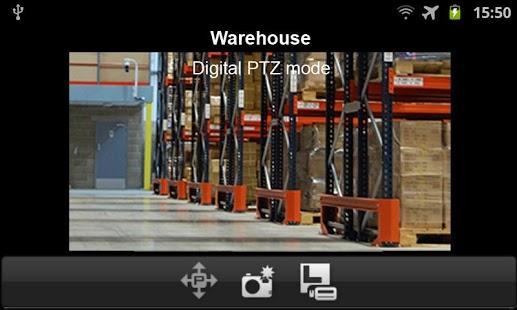 Capture d'écran D-ViewCam Mobile