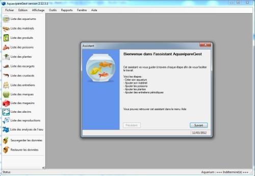 Capture d'écran AquavipareGest