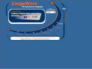 Capture d'écran Lingoware
