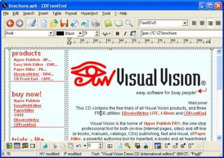 Capture d'écran CD FrontEnd PRO Français