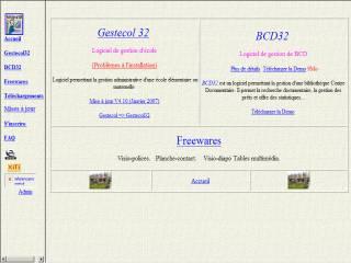 Capture d'écran Tables Multimédia