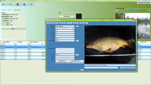 Capture d'écran Carnet De Pêche
