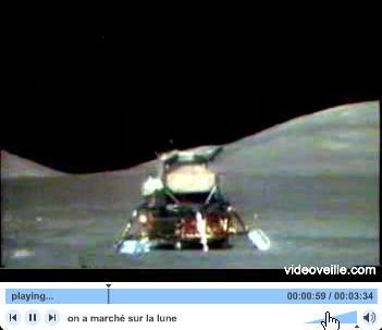 Capture d'écran On a marché sur la lune