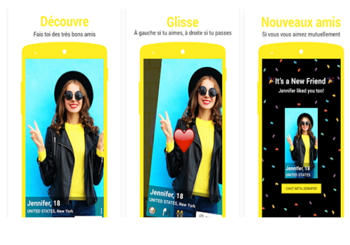 Capture d'écran Yellow – Make New Friends Android