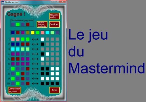 Capture d'écran PK-Mastermind