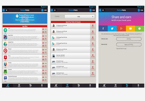 Capture d'écran FeaturePoints Android