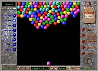Capture d'écran Planetoid Pack