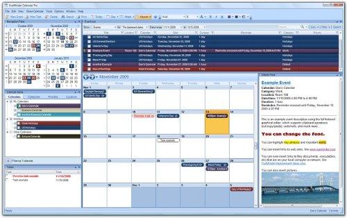 Capture d'écran VueMinder Calendar Pro