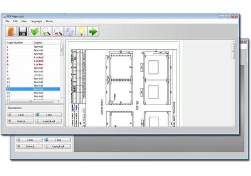 Capture d'écran PDF Page Lock 2.0