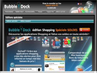 Capture d'écran Bubble Shopping