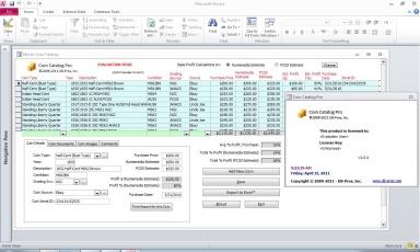 Capture d'écran Coin Catalog Pro