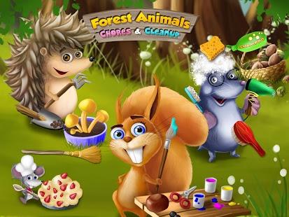 Capture d'écran Forest Animals Arts and Crafts