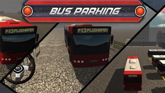 Capture d'écran Bus Parking 3D Simulator