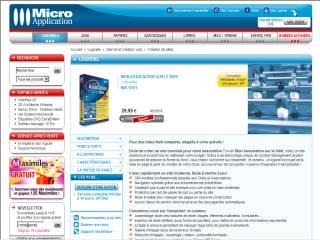 Capture d'écran Mon Association sur le Web