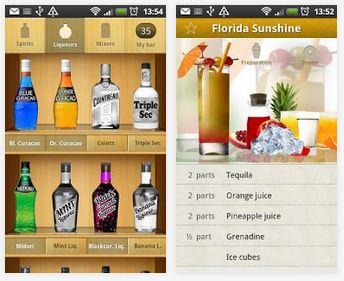 Capture d'écran Cocktail Flow Android