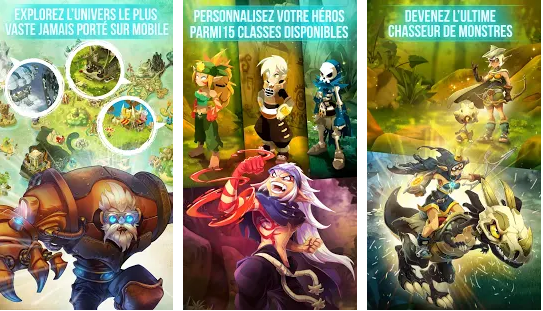 Capture d'écran Dofus Touch Android