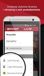 Capture d'écran Sport.pl LIVE