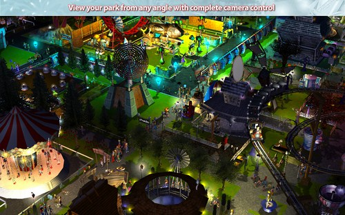 Capture d'écran RollerCoaster Tycoon 3 Platinum – Mac