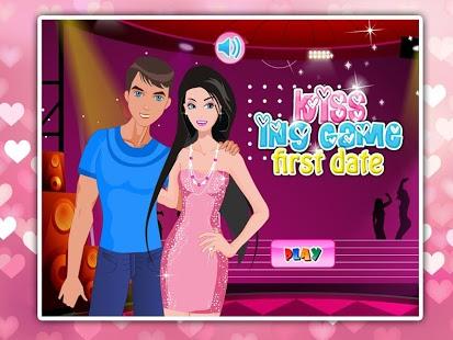 Capture d'écran Kissing Game: first date