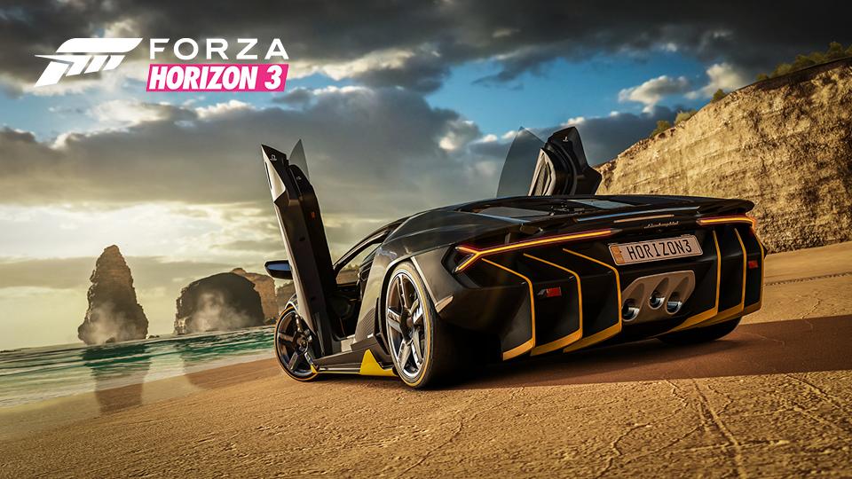 Capture d'écran Forza Horizon 3