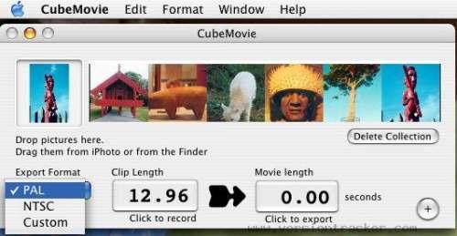 Capture d'écran CubeMovie HD