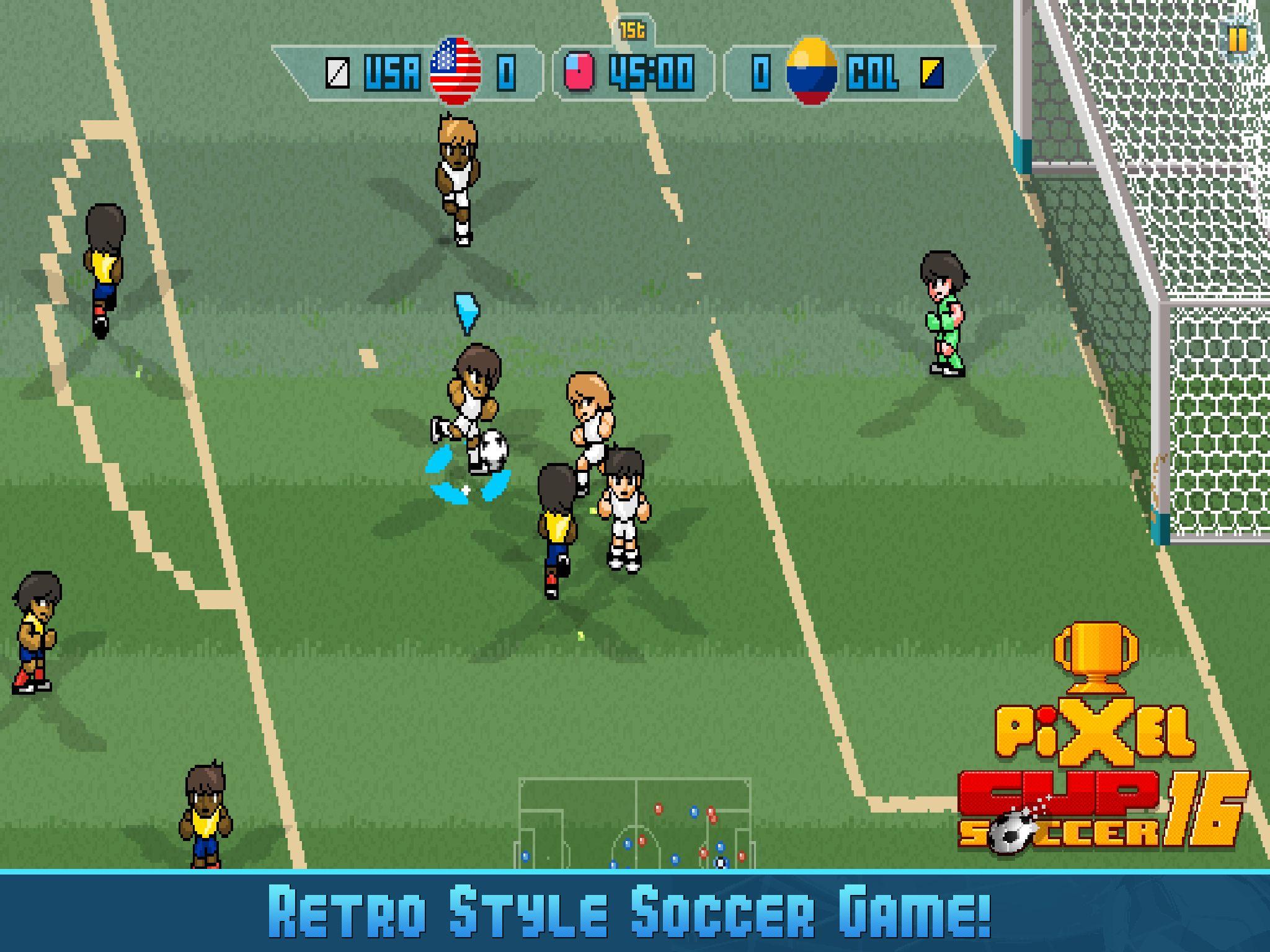 Capture d'écran Pixel Cup Soccer 16 iOS