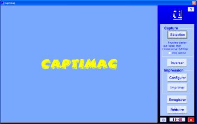 Capture d'écran CaptImag