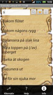 Capture d'écran Svenska uttryck Full