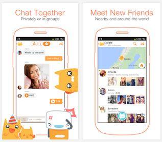 Capture d'écran Meow Chat Android