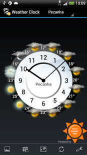Capture d'écran Weather Clock