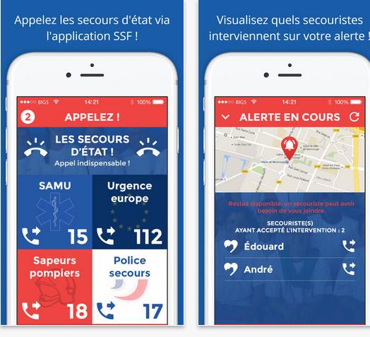 Capture d'écran SSF – Sauveteurs Sans Frontières Android