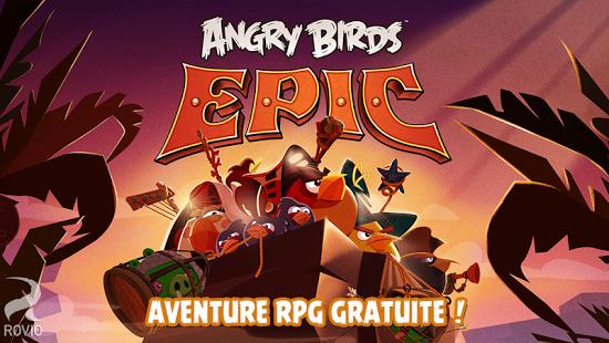 Capture d'écran Angry Birds Epic