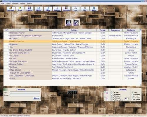 Capture d'écran MégAthèque2