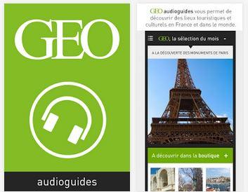 Capture d'écran GEO Audioguides iOS