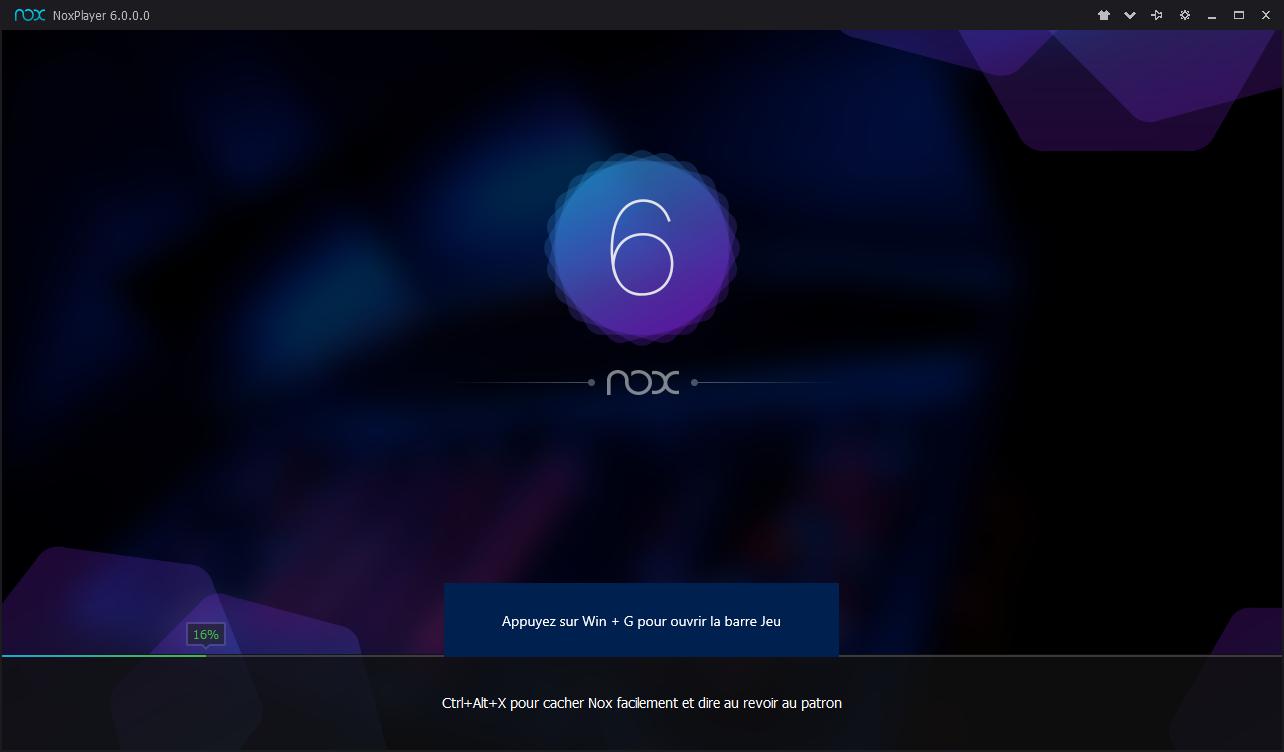 Capture d'écran Nox App Player